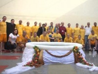 Семьдесят заключенных крестили в бразильской тюрьме